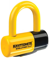 Велозамок Kryptonite evolution disc lock yellowKryptonite evolution disc lock yellow