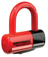 Велозамок Kryptonite evolution disc lock redKryptonite evolution disc lock red